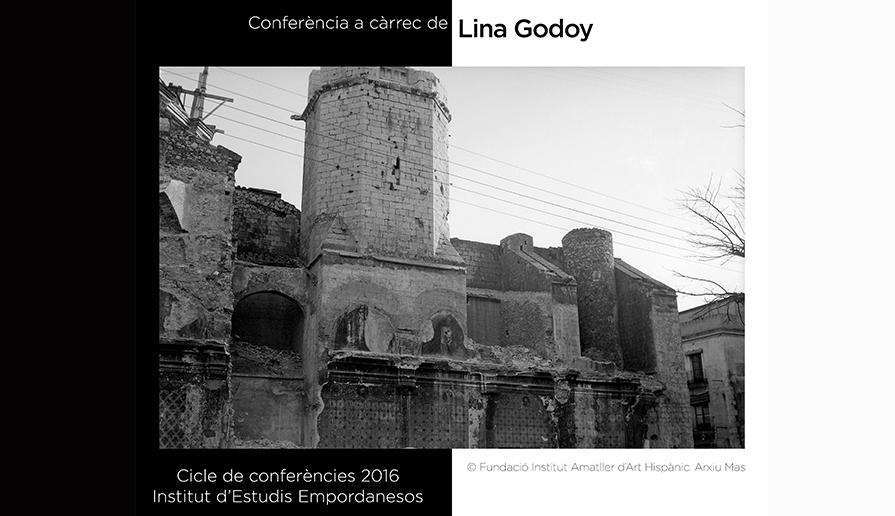 Conferència de Lina Godoy, 24 de març