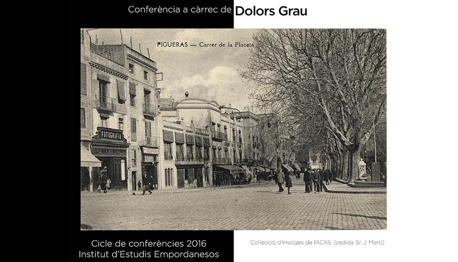 Conferència de Dolors Grau, 26 de maig