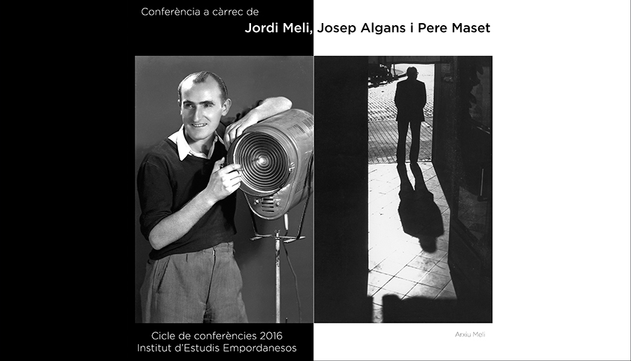 Conferència de Jordi Meli, Josep Algans i Pere Maset, 29 de setembre