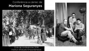 Conferència de Mariona Seguranyes, 27 d'octubre