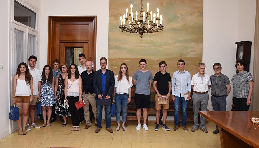 Guanyadors dels Premis Juvenils de Treballs de Recerca de Batxillerat Albert Compte 2016