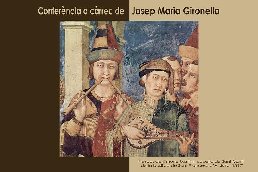 Conferència Josep M. Gironella, 30 de març