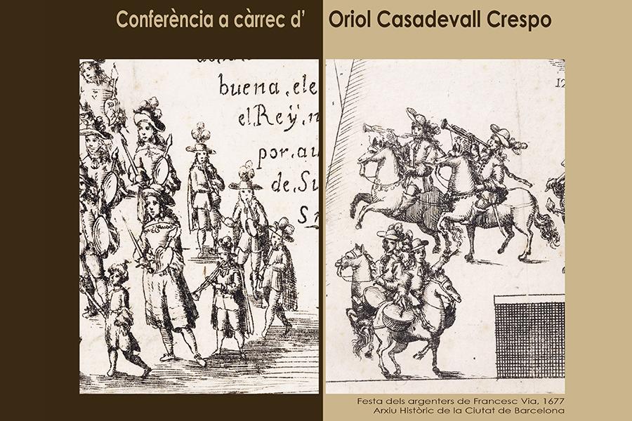 Conferència d'Oriol Casadevall, 25 de maig