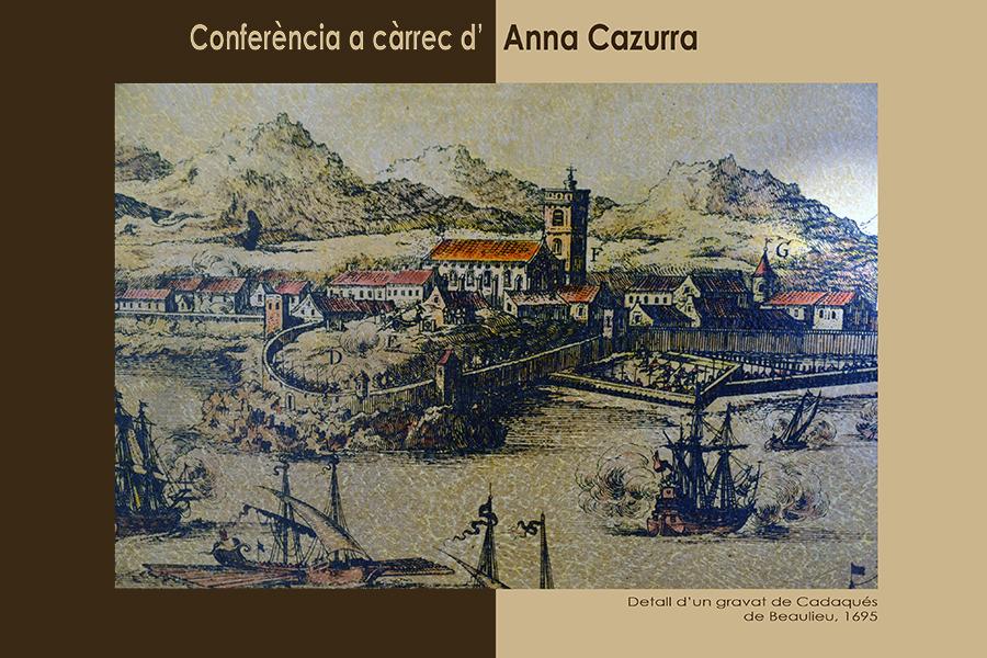 Conferència d'Anna Cazurra, 22 de juny