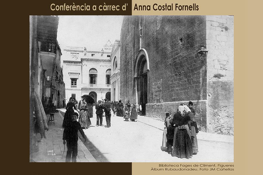 Conferència d'Anna Costal, 30 de novembre