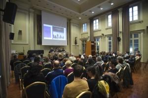 Bona assistència de públic a la presentació (foto Manel Casanovas)