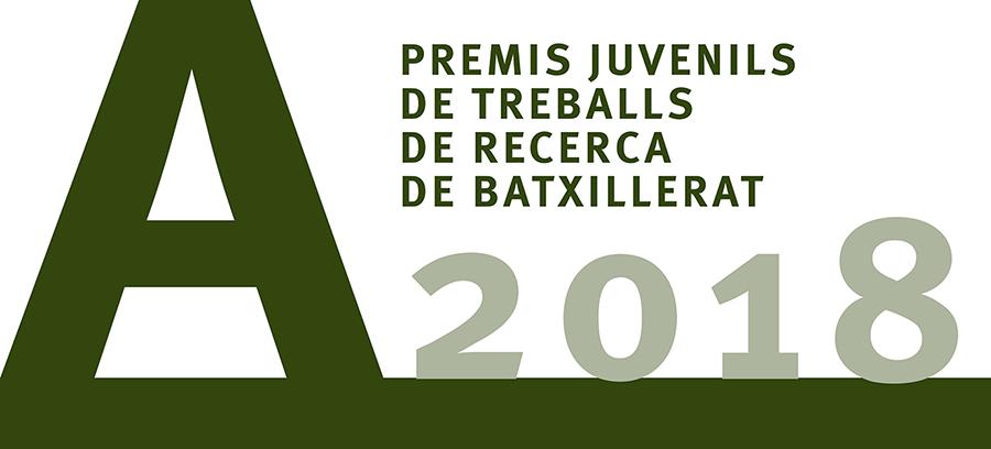 Premis juvenils a treballs de recerca de batxillerat 2018