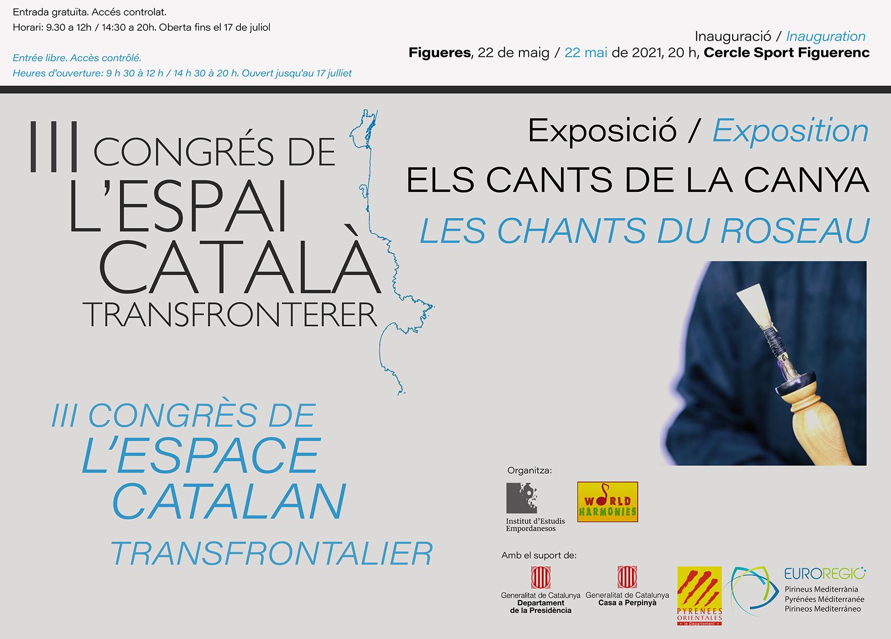 """Exposició """"Els Cants de la Canya"""", III CECT, 22 de maig a 17 de juliol"""