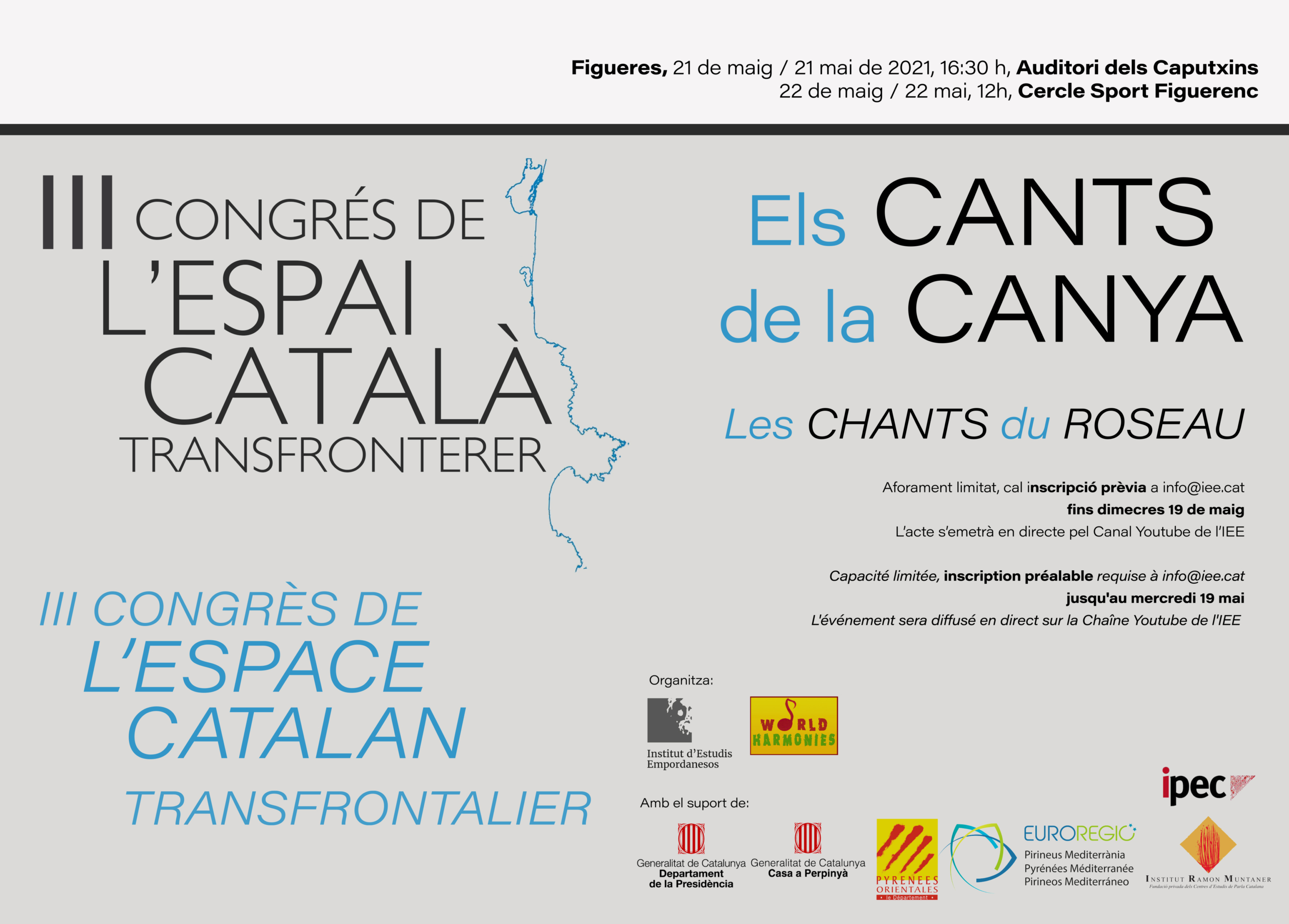 III Congrés de l'Espai Català Transfronterer, 21 i 22 de maig